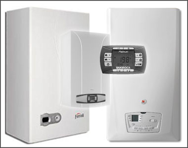 Una mirada del hombre caldera electrica o gas natural - Calefaccion de gas o electrica ...